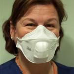 tuberkuloosi, hengityksensuojain, FFP3, respiraattori