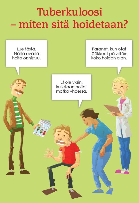 Tuberkuloosi miten sitä hoidetaan -kansi